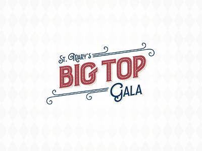 Gala Logo flourish circus logo event gala