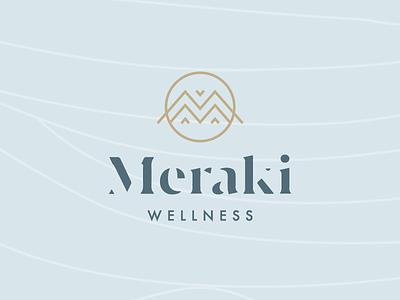 Meraki Wellness Brand Identity brand identity identity branding identity logo