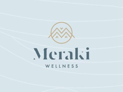 Meraki Wellness Brand Identity