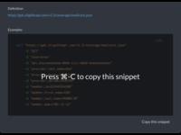 Eligible.com Copy JSON Snippets Feature
