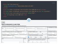Code To A Live Form Presentation