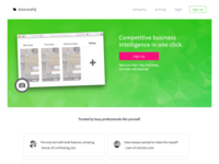 Competitive Intelligence App for Business