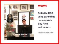 Zack Onisko Dribbble CEO on Rad Dad Show