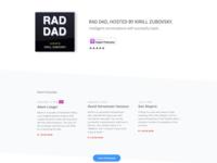 Rad Dad Landing Page Update
