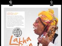 Lakha Khan World Music poster