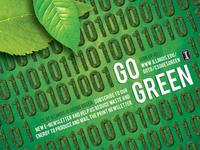 Go Green Ad for E-Newsletter