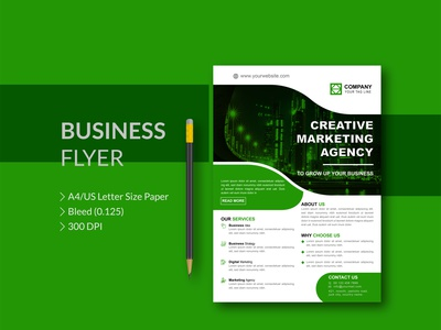 Creative Marketing Agency business report flyer agency flyer advertising flyer advertising design advertising corporate flyer business flyer design flyer design business flyer flyer
