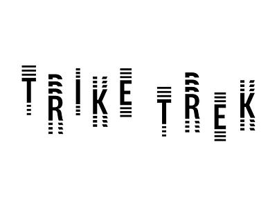 Trike Trek Logo Animation branding design typography animation mobility logo vector type