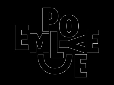 Happy Employee expressive type smile smiley face employee type design typography type lockup type art