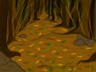 Floresta design grafic design ilustração floresta
