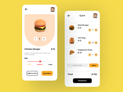 Food App uiuxdesign mobile ui mobile design mobile application mobile app design figmadesign best design food app dribbble best shot dribble shot trending trendy minimal ui design ui ux