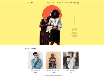 Fashion website design  UIUX - Web Inspiration branding website webdesign minimal graphicdesign dailyui fashion brand fashion cta hero image landingpage design uiux web inspiration