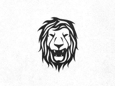 Lion (work in progress) lion cat illustration icon logo texture growling face brand