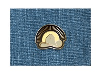 Cowboy Sunrise Pin