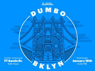 Official Dribbble Meetup - Jan 18 (Brooklyn)