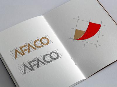 AFA Co. Logo Design   2019 mountain logo red logo gold logo logolounge logolearn logomaker logo design logoinspiration illustrator logo design logodesign branding