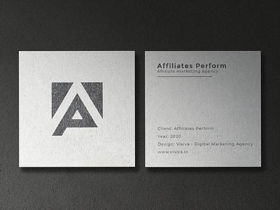 Branding - Affiliates Perform affiliate marketing affiliate symbol logo mark brand identity brand design branding logo design logotype logos logo graphic design
