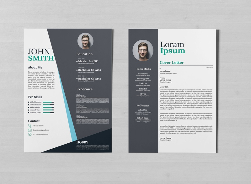 Resume Design resume template professional cv corporate cv design resume design resume cv flyer design flat design trending trendy graphic design