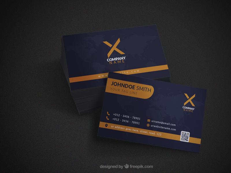 Professional Business Card Design minimal corporate professional designer business card ui typography design trending illustration graphic design branding trendy