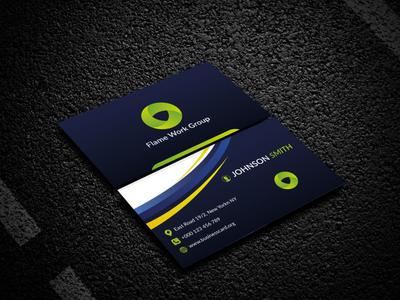 Business Card Design corporate ui typography design trending trendy branding graphic design professional business card corporate business card business card design business card