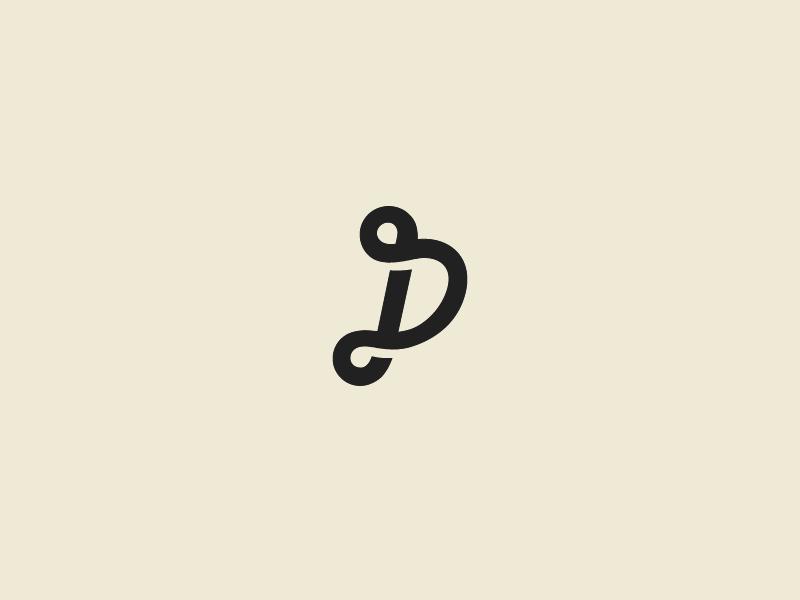 JP: 2 infinite shading collaboration flat shadow jp monogram logo loop