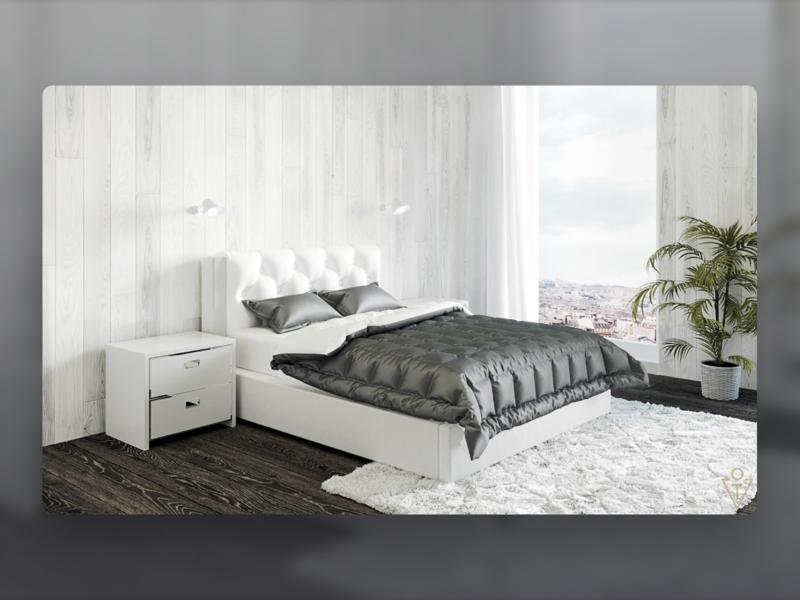 Bedroom interior design (3D) rug carpet pillows interior design interior 3dsmax 3d modeling render house architecture 3d design art