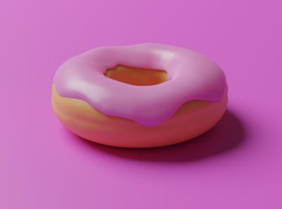 Just a Donut tutorial blender