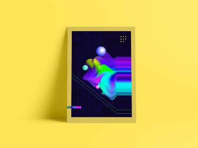 Experimental gradients wip experimental brand gradients poster mockup