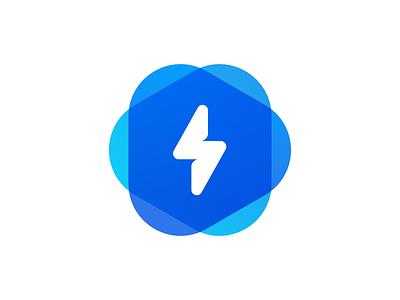Lightning logo flat lightning icon logo mark symbol minimalism identity logotype minimalistic monogram logomark branding brand logo