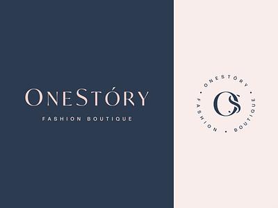 Fashion boutique logo clothes shop boutique logotype minimalism fashion beauty logo mark symbol identity minimalistic logomark monogram brand branding logo