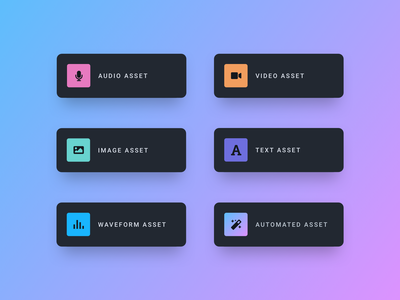 Asset Codification asset user interface ui  ux uiux ui design uidesign night mode element dark card ui card design card design system product web app design ux interface ui