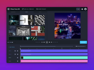 Video Editor: Add Tracks