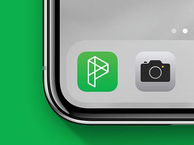 Provision App Icon logo icon app branding