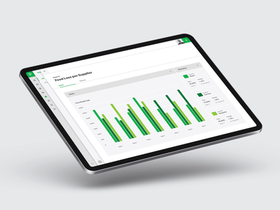 Provision Reporting UI design system dashboard reporting ui