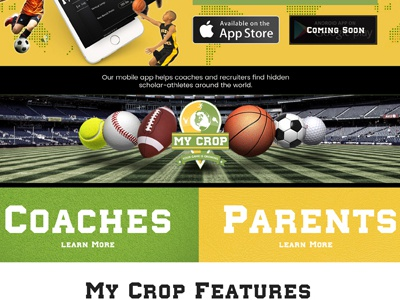 My Crop Sports network sports community