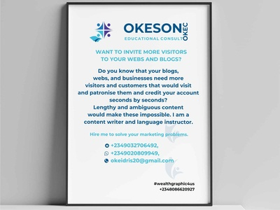 Okeson logo client illustrations design