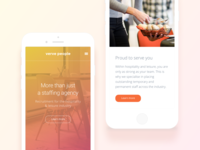Landing Page Mobile
