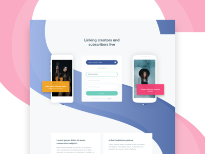 Sf Landing Page