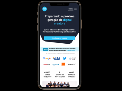 Tela Iron Hack - App mobile mobile vector user interface design android app figma design figma class ironhack