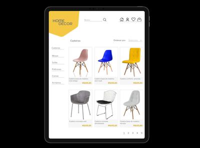 Daily UI #12 - E-commerce shop ecommerce design ecommerce app ecommerce ipad design ipad pro tablet design ui user interface design dailyuichallenge dailyui