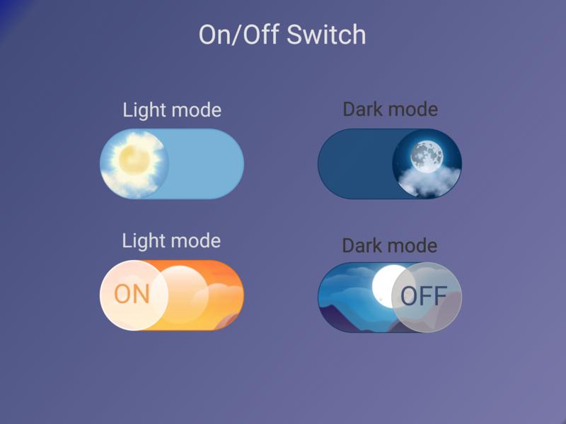 Daily UI #15 dark mode light mode ui dailyuichallenge dailyui design switch off switch on switch button switch