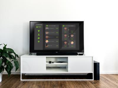 Aplicado - Smartv leaderboard xbox one xboxone xbox tv app ui user interface dailyuichallenge dailyui design
