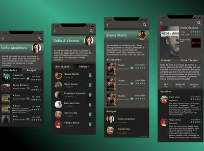 App moviepopcine app movie ios app design ios app logo icon app design design ui user interface android app app