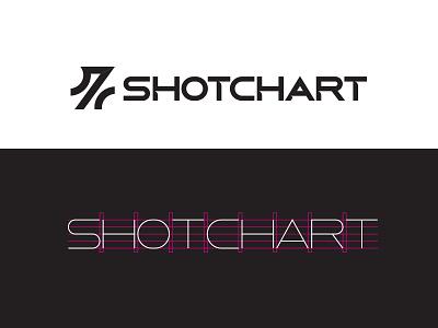 Shotchart Logo logo typography identity branding