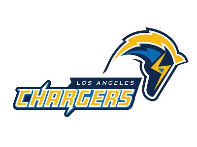 NFL LA Chargers Logo v2 logo chargers la nfl