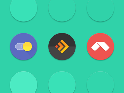 Android 7.1 round icon Sketch template product launcher circular round sketch freebie template icon android