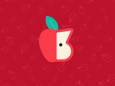 3 years 🍎 leaf red illustration apple nyc numbers numeral 3