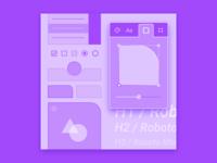Theme Editor illustration for Material.io