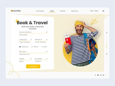Travelia designinspiration webdesigninspiration modernwebdesign modernwebdesgn modern cleanui ui design landingpagedesign webgraphicdesign webgraphic webdesigner webdesign uiux designer uiuxdesign uiux ticketingwebdesingn ticketingui traveluidesign travelticketingwebdesign travelwebsite