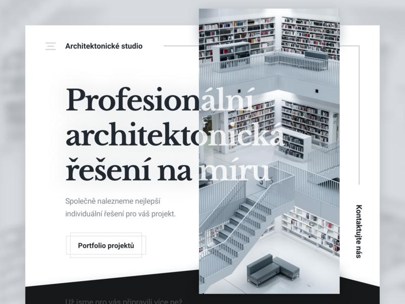 Architecture Studio - Landing Page